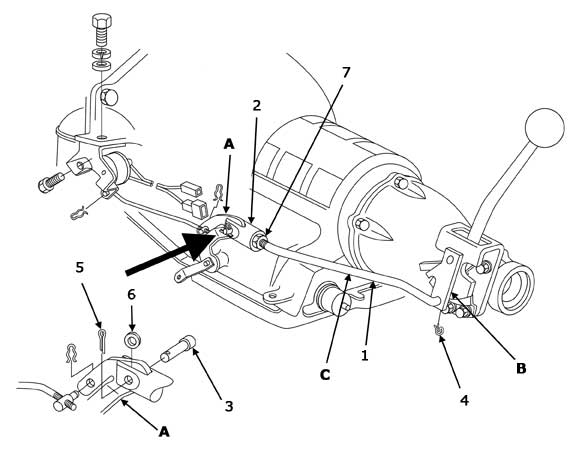 1962-64 Powerglide Shifter Linkage Installation
