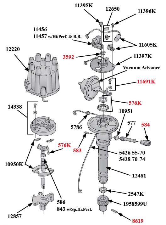 Tachdistributor on 1970 Corvette Wiring Diagram